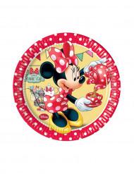 8 Platos pequeños Minnie Café™ 20 cm