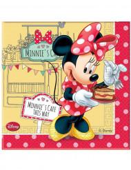 20 Servilletas papel Minnie Café™ 33x33 cm