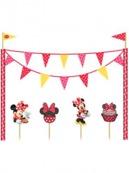 Kit decoración para tartas Minnie Café™