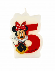 Vela 5 años Minnie Café™