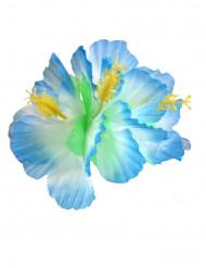 Horquilla flor azul Hawái