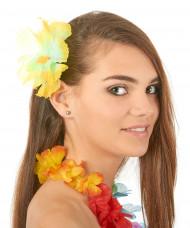 Horquilla flor amarilla Hawái