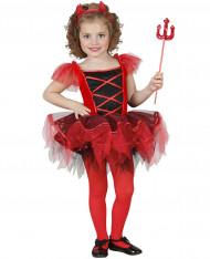 Disfraz diablesa niña tutú Halloween