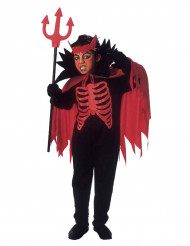Disfraz diablo rojo niño Halloween