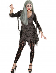 Disfraz de muerto viviente mujer Halloween