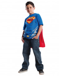 Camiseta con capa de Superman of Steel™ niño