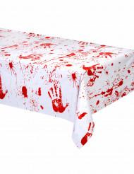 Mantel manos sangrientas Halloween