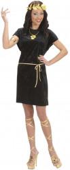 Disfraz romana negro mujer
