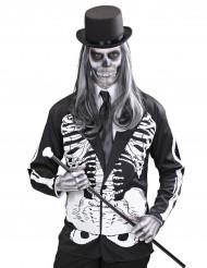 Chaqueta de esqueleto adulto Halloween