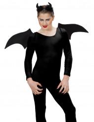 Set demonio negro Halloween