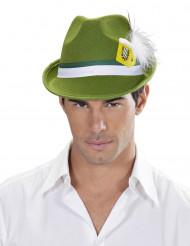 Sombrero bávaro verde adulto