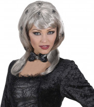 Peluca de arañas mujer adulto Halloween