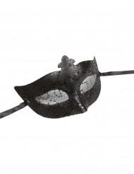Antifaz veneciano negro adulto
