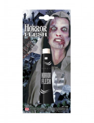 Maquillaje piel gris Halloween