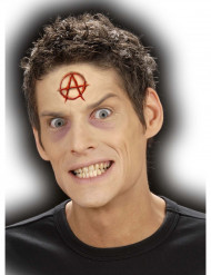 Herida falsa símbolo A adulto Halloween