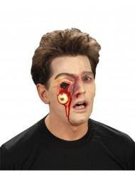 Herida ojo desgarrado adulto Halloween