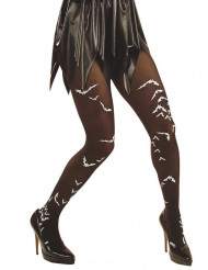 Medias muerciélago adulto Halloween