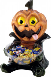 Porta caramelos calabaza Halloween