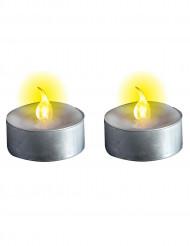 Velas luminosas de pilas