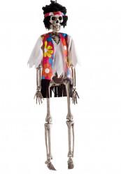 Decoración colgante esqueleto hippie Halloween