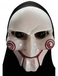 Máscara asesino psicópata con capucha adulto Halloween