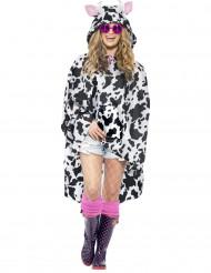 Poncho de vaca adulto