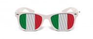 Gafas humorísticas blancas Italia