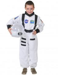 Disfraz astronauta blanco niño