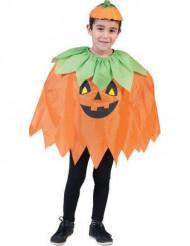 Poncho calabaza niño Halloween