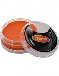 Maquillaje de base acuosa naranja