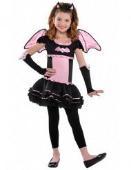 Disfraz murciélago rosa niña Halloween