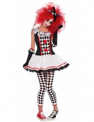 Disfraz payaso arlequín adolescente Halloween