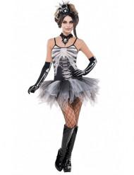 Disfraz de esqueleto sexy mujer Halloween