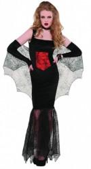 Disfraz de vampiresa mujer Halloween