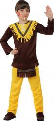 Disfraz indio niño