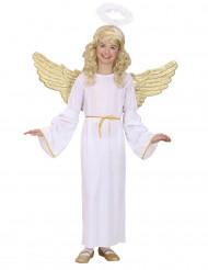 Disfraz ángel dorado niño