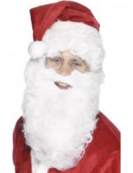Barba blanca 28 cm adulto Papá Noel