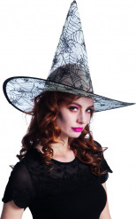 Sombrero transparente telaraña adulto Halloween