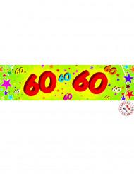Pancarta papel 60 años