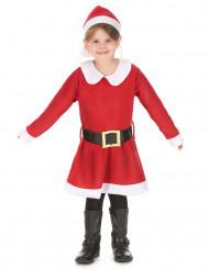 Disfraz Mamá Noel niña