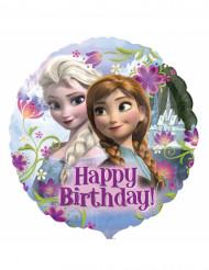 Globo aluminio Frozen™ Happy Birthday