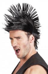 Peluca corta punk hombre