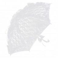 Sombrilla de encaje