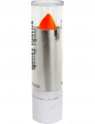 Pintalabios naranja fluorescente