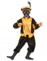 Disfraz paje amarillo niño