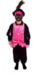 Disfraz paje rosa niño