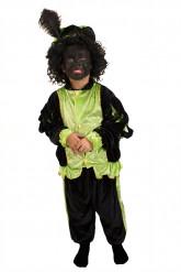 Disfraz paje verde niño