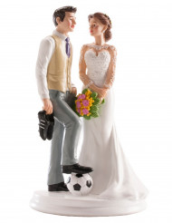 Figurilla boda pareja humorístico