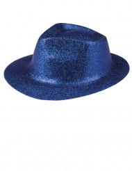 Sombrero brillante azul para adulto