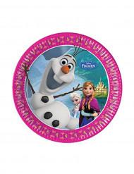 8 Platos 20 cm Frozen™